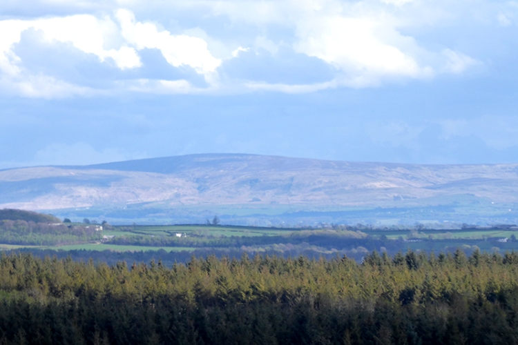 view of english hills