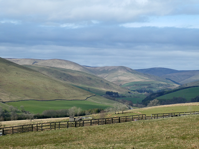 view of ewes valley from golf course