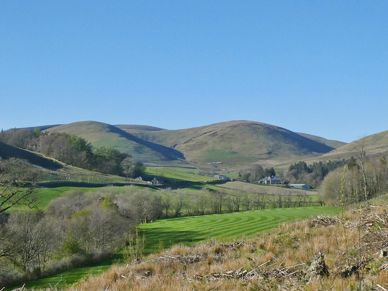 view up esk valley
