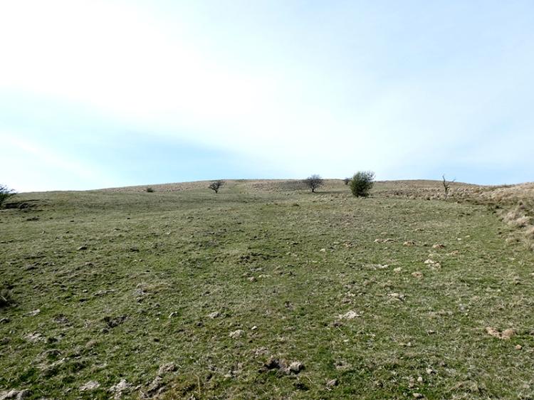 walking up meikleholm hill