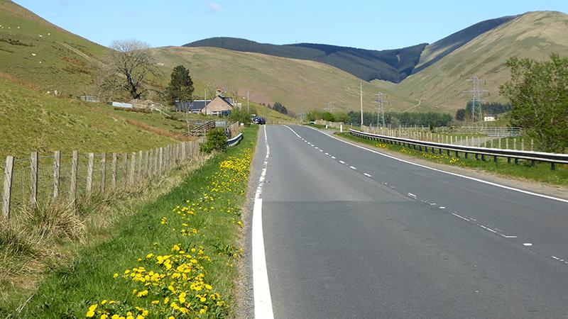 A7 near Unthank
