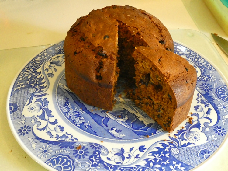 boiled cake