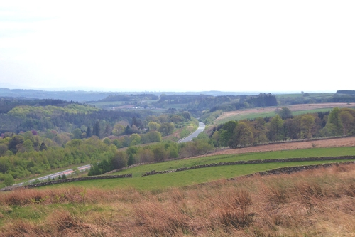 esk valley from old irvine