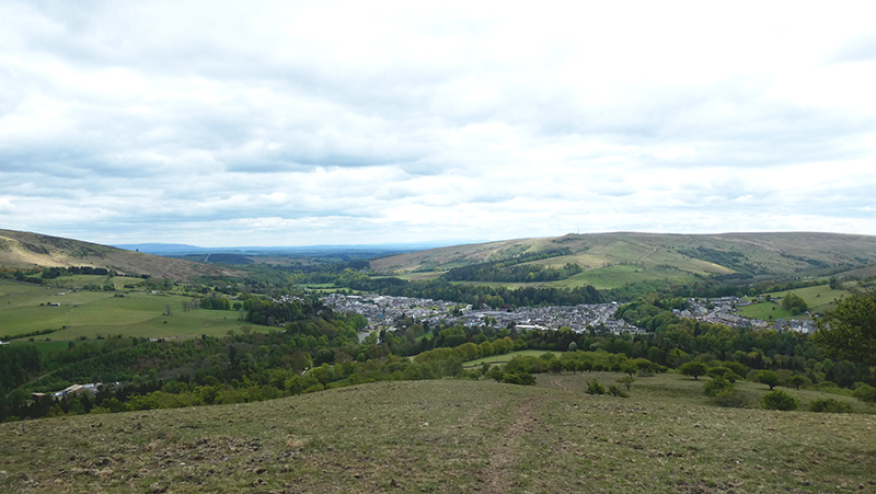 langholm from castle hill