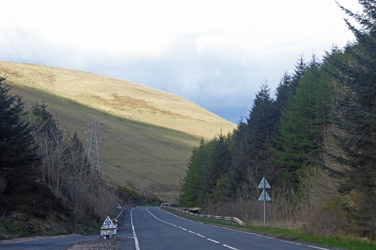 road up to mosspaul